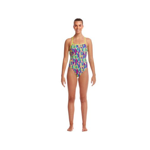 Doubles Bretelles Maillot de bain femme - Strapped In Mixed Signals