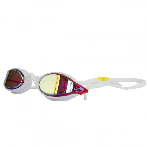 Lunettes Finis Circuit 2 Goggle Red Yellow Mirror