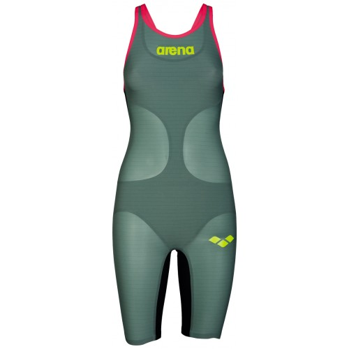 Arena Combinaison Carbon Air Dark Green Dos ouvert
