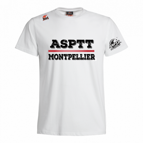 Tee-Shirt Club 100% Coton - ASPTT Montpellier