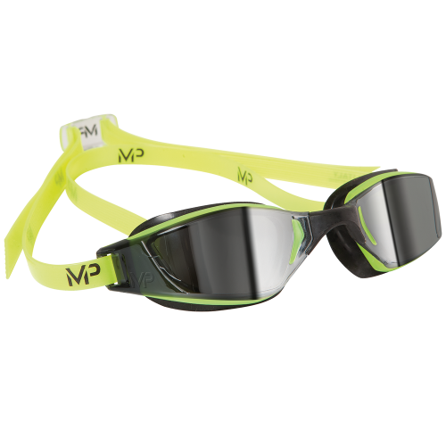 Lunettes de Natation -Xceed Mirror Black yellow