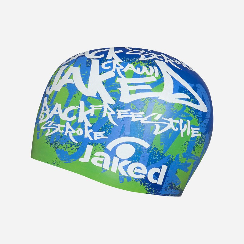Bonnet Silicone JAKED - Tag - Blue