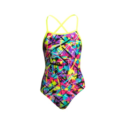 Maillot de bain fille - SPRAY ON - Doubles Bretelles