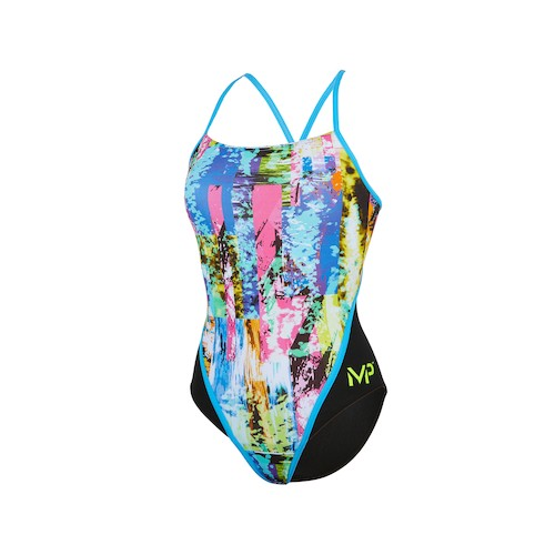 Maillot femme dos racing - Tropic