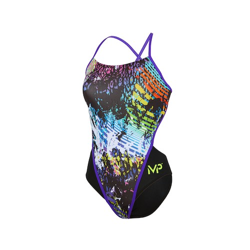 Maillot femme dos ouvert - Panther