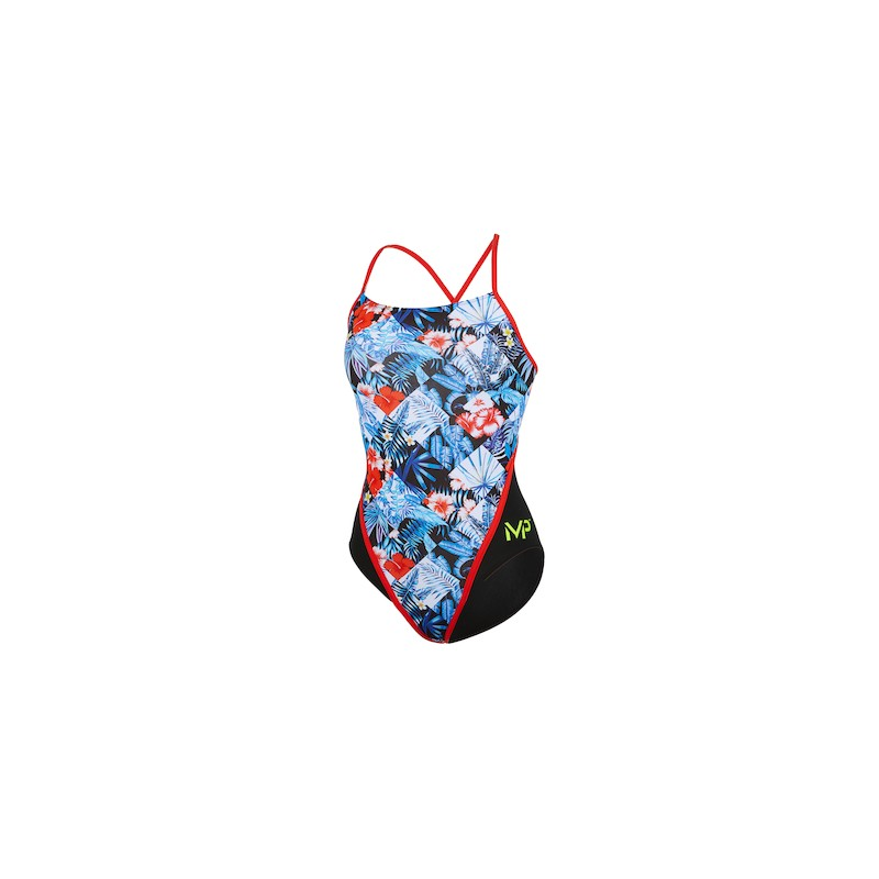 Maillot femme dos racing - Flower