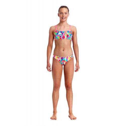 Maillot de bain two pieces fille - Pastel Patch