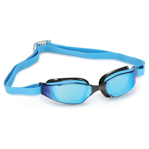 MP Michael Phelps Lunettes de Natation -Xceed Mirror blue black