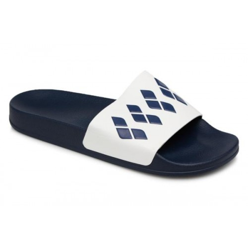 Claquettes Team Stripe Slide Navy White