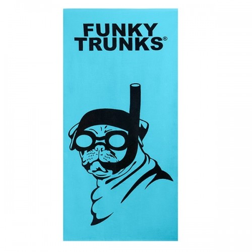 FUNKY TRUNKS Serviette SNORKEL PUG