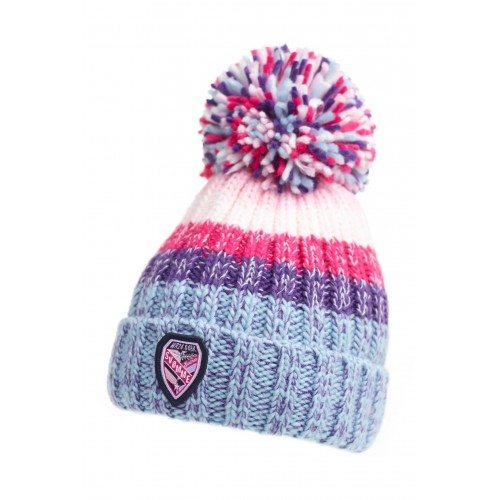 Bonnet Sherpa Super Bubble Gris Rose