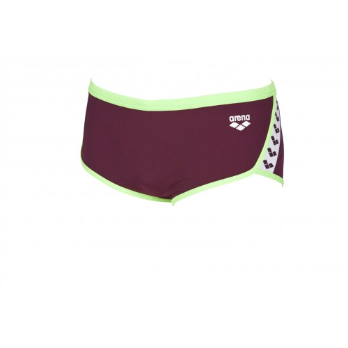 Maillot de bain homme Team Stripe Red Wine Shiny Green