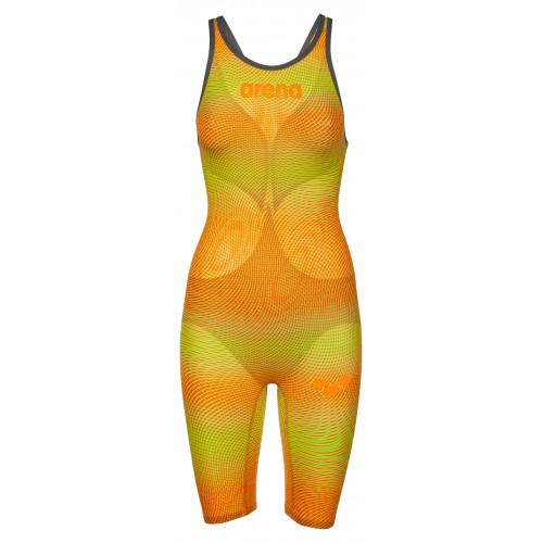 Arena Combinaison Carbon Air² Dos ouvert Lime Orange