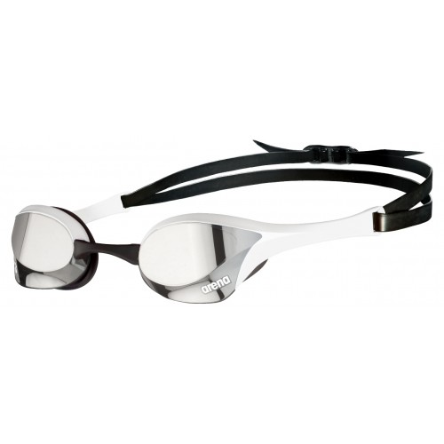 Cobra Ultra Mirror Swipe Silver WHITE Outdoor