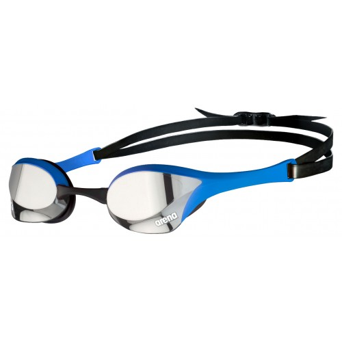 Cobra Ultra Mirror Swipe Silver BLUE Outdoor