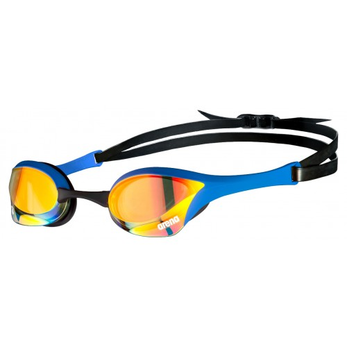 Cobra Ultra Mirror Swipe Yellow Copper BLUE Indoor