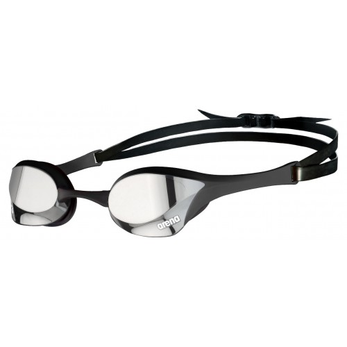 Cobra Ultra Mirror Swipe Silver BLACK Outdoor