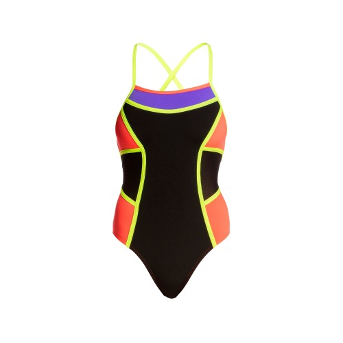 Maillot de bain femme - Double Bretelles - Flame Thrower