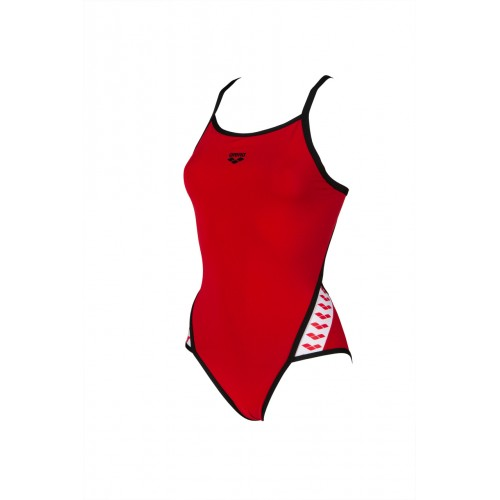Maillot de bain Femme Team Stripe Red Black