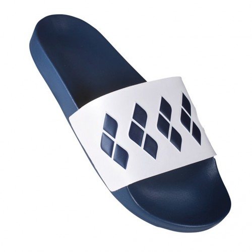 Claquettes Team Stripe Slide Blue White