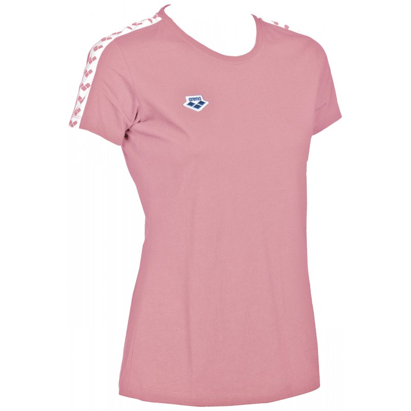 Tee Shirt Femme Icons Rose