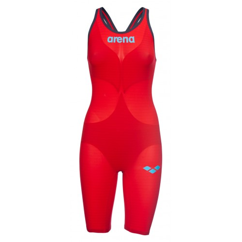 Arena Combinaison Carbon Air² Dos ouvert Red
