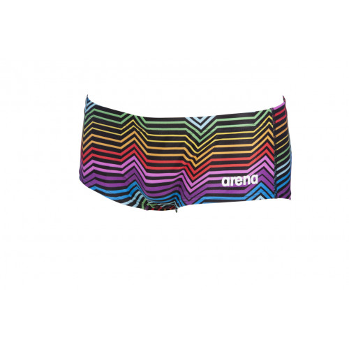 Maillot de bain homme MULTICOLOR STRIPES Black Multi