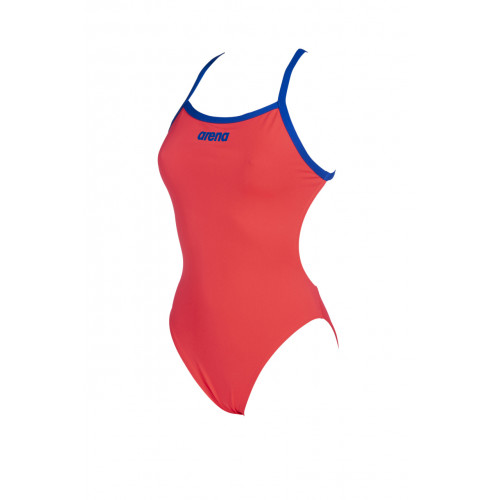 Maillot de bain Femme - Solid Light Tech - Fluo Red Neon Blue