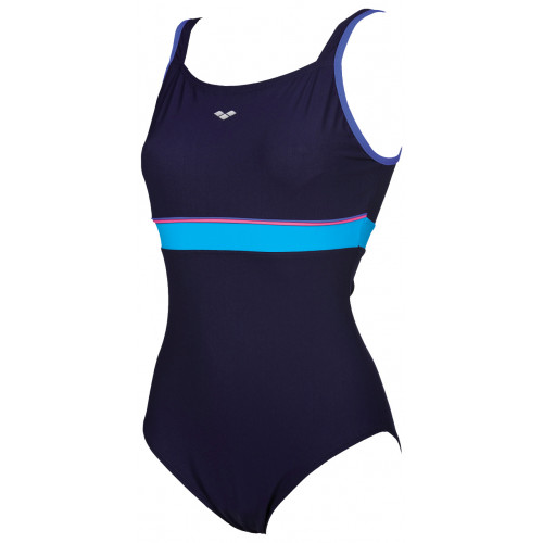 Maillot de bain Femme - MOVY WING BACK Navy Turquoise