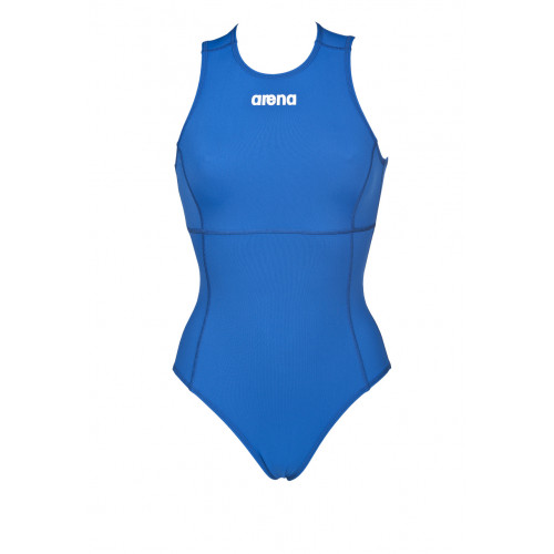 Maillot femme Waterpolo Solid Bleu