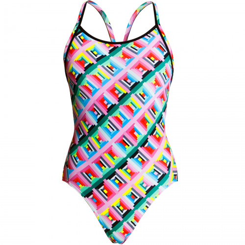 Maillot Femme Funkita Underwire Diamond Pastel Party