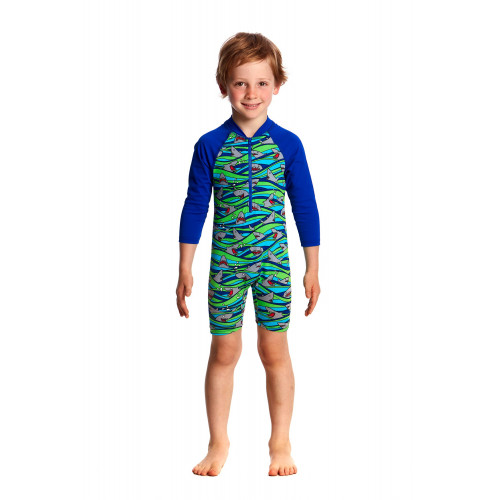 Maillot Anti UV manches longues Enfant Little Nipper
