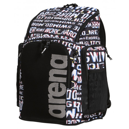 Sac à dos TEAM BACKPACK 45 ALLOVER NEON GLITCH
