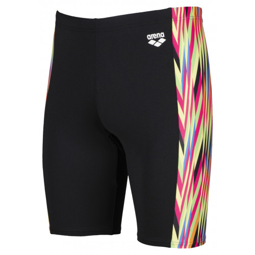 Maillot Homme Speed Stripes Jammer Black Multi Orange