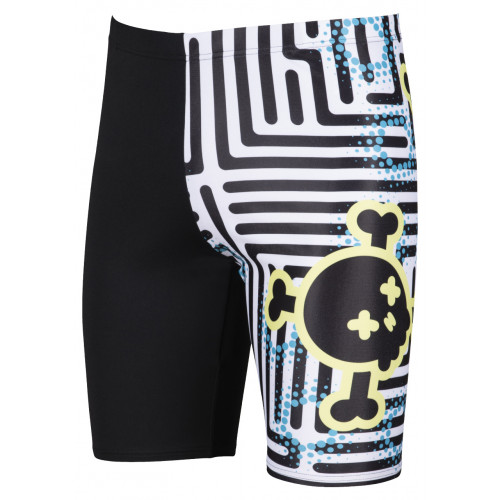 Maillot Homme Crazy Labyrinth Jammer Black Multi