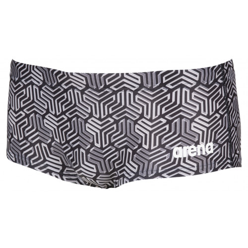 Maillot de bain homme - Kikko Low Waist Short Black Multi