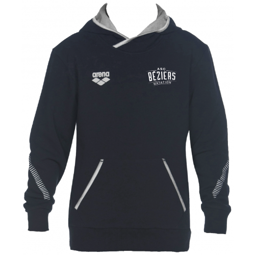 Sweat Hoodie Unisexe Navy ASC Béziers Natation