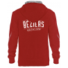 Sweat Hoodie Unisexe Red ASC Béziers Natation