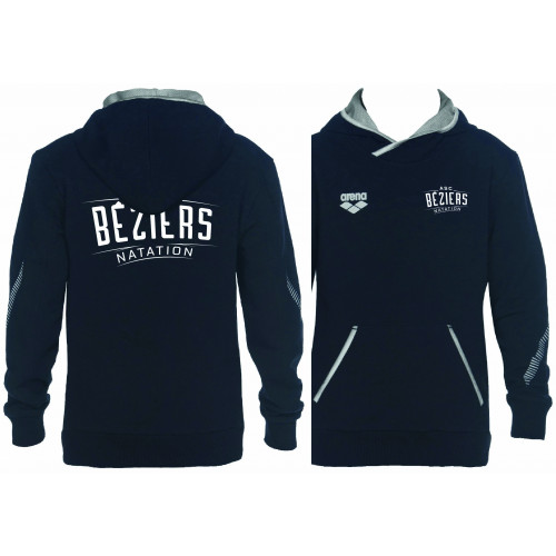 Sweat Hoodie Junior Navy ASC Béziers