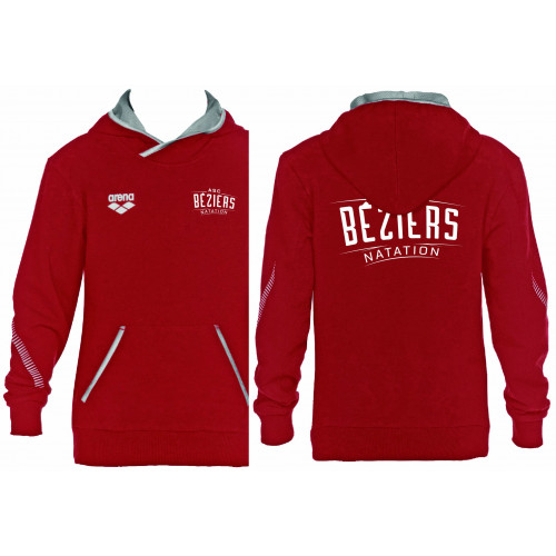 Sweat Shirt Junior Red ASC Béziers