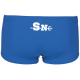 Maillot de Bain ARENA Solid Squared Short Junior Garçon Royal Sète Natation