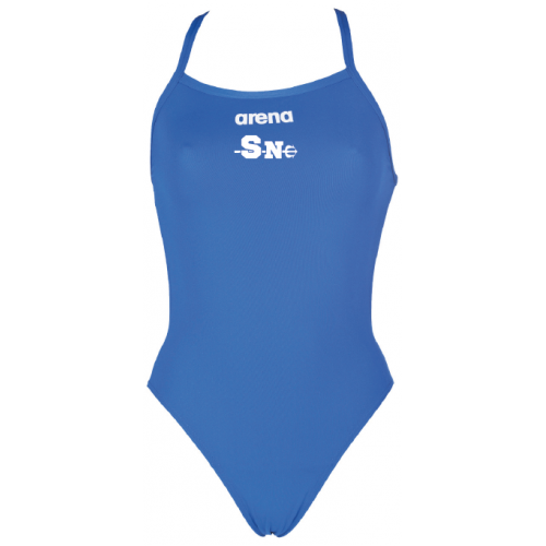Maillot de Bain Fille ARENA Solid Light Tech Royal Sète Natation