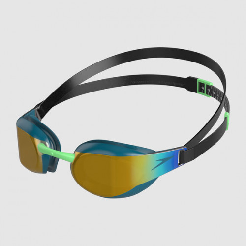Lunettes Fastskin Elite Mirror Black Nordic Teal Gold