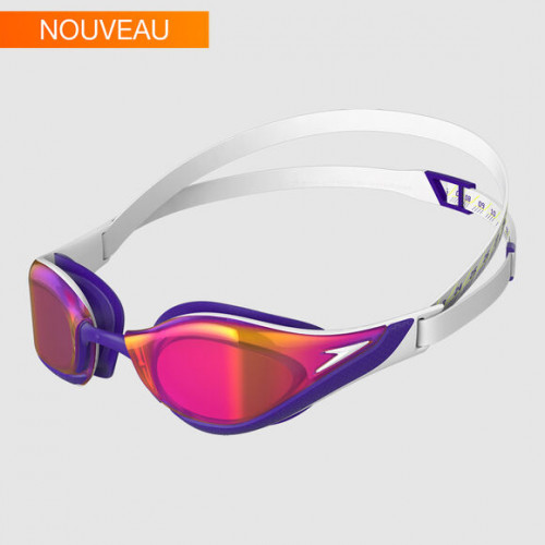 Lunettes Fastskin Pure Focus Mirror White Gold purple