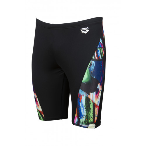 Maillot Homme Colourful Jammer Black Multi