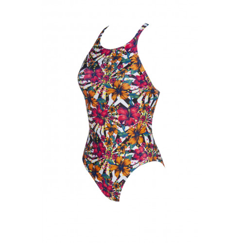 Maillot de bain femme One Allover Booster Black Multi