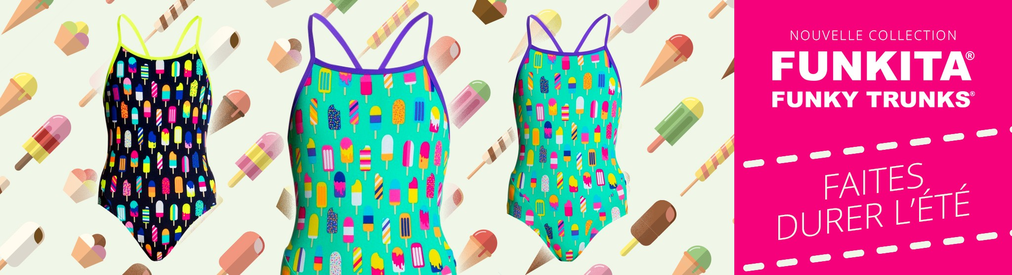 Nouvelle Collection funky trunks funkita WILD WATER